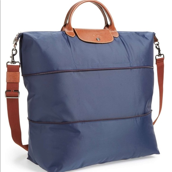 bfe88dd781b Longchamp Bags | New 255 Le Pliage 21 Expand Travel Bag | Poshmark